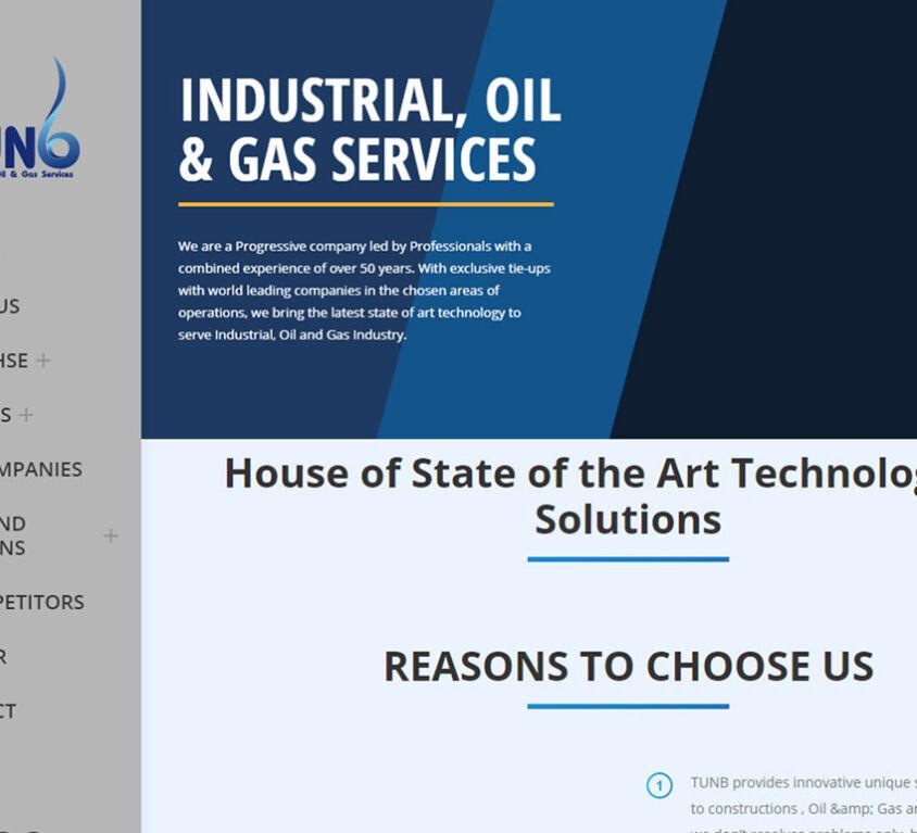 Tunb Industrial Oil & Gas